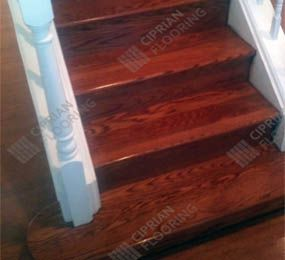 Hardwood Stairs Project