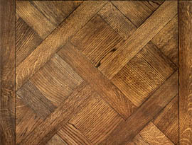 Versailles Pattern Mosaic Wood Floor Oak Old Venice