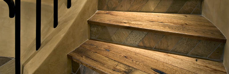 Hardwood Oak Steps